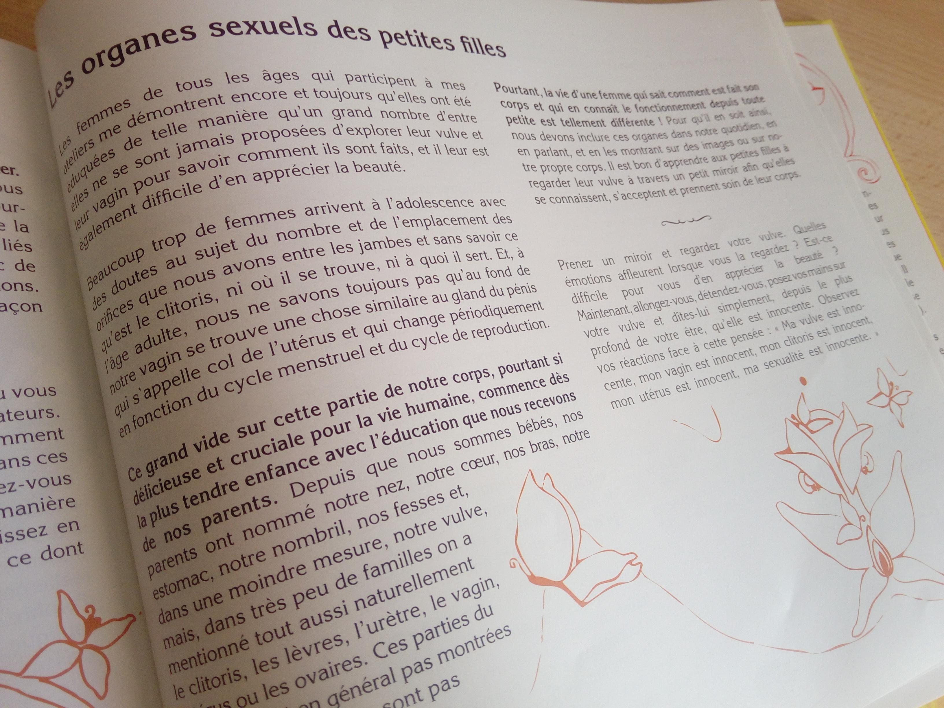 livres sur les règles filles
