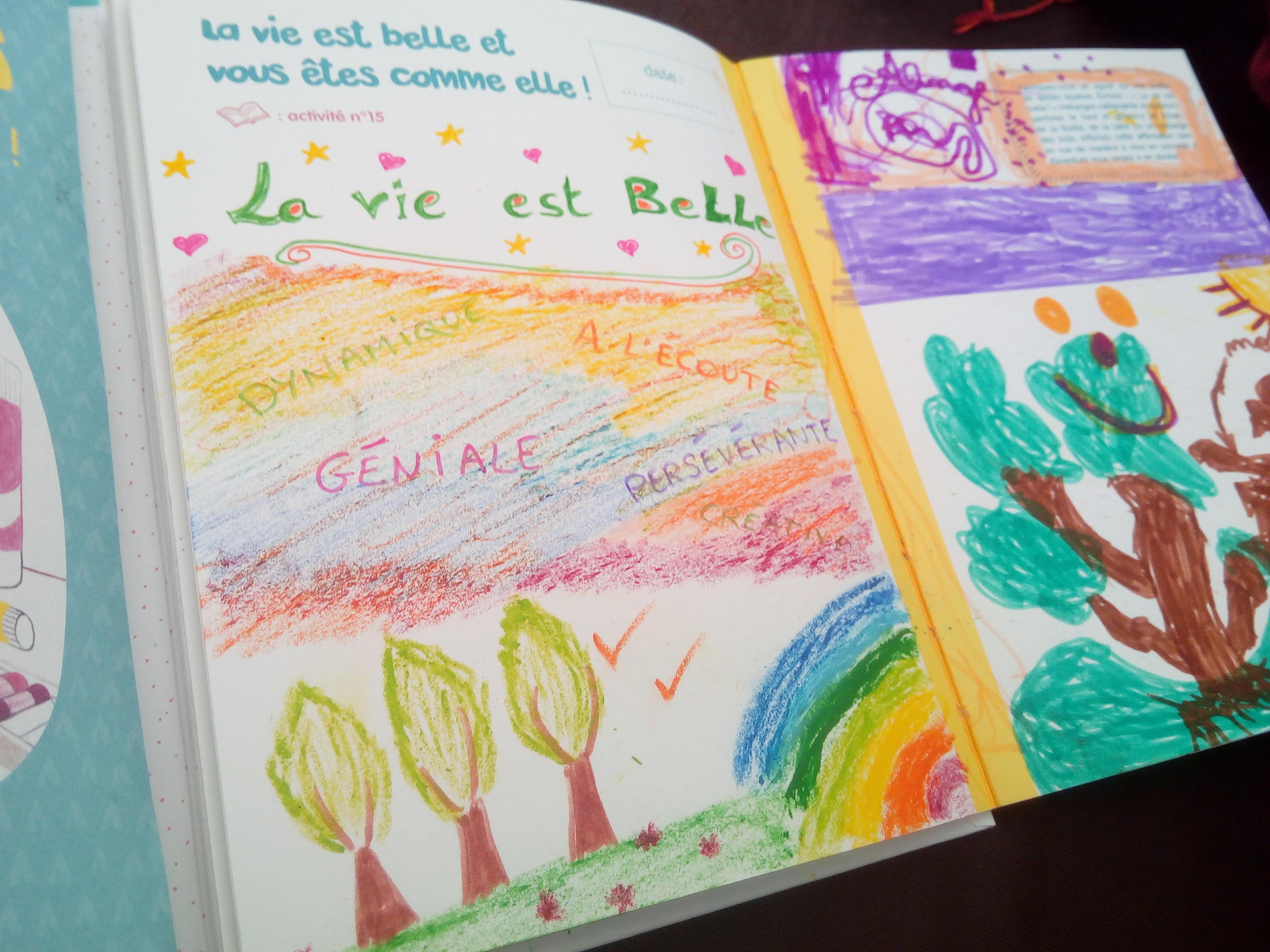 journal créatif parents enfants