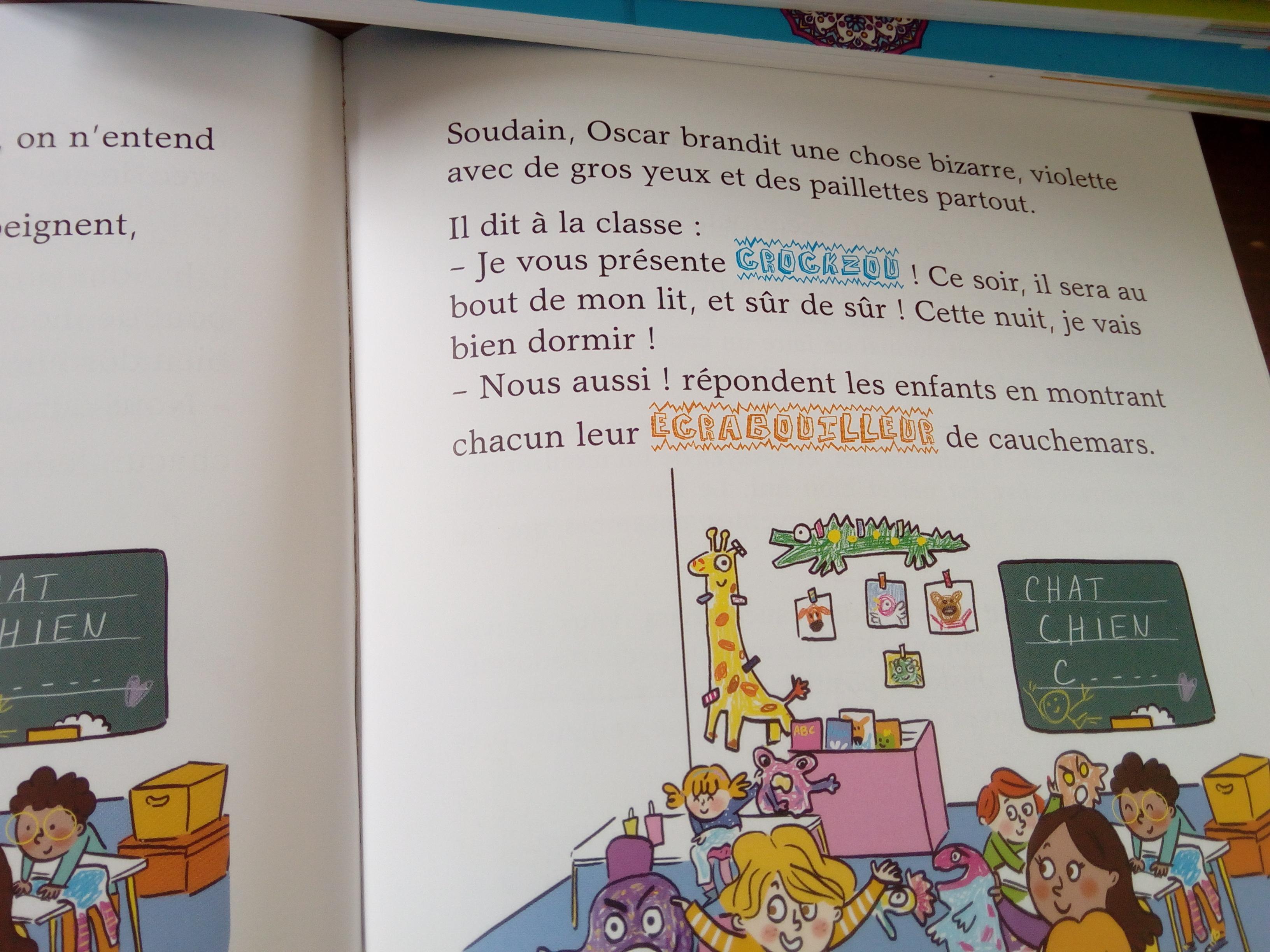 livre cauchemar enfants