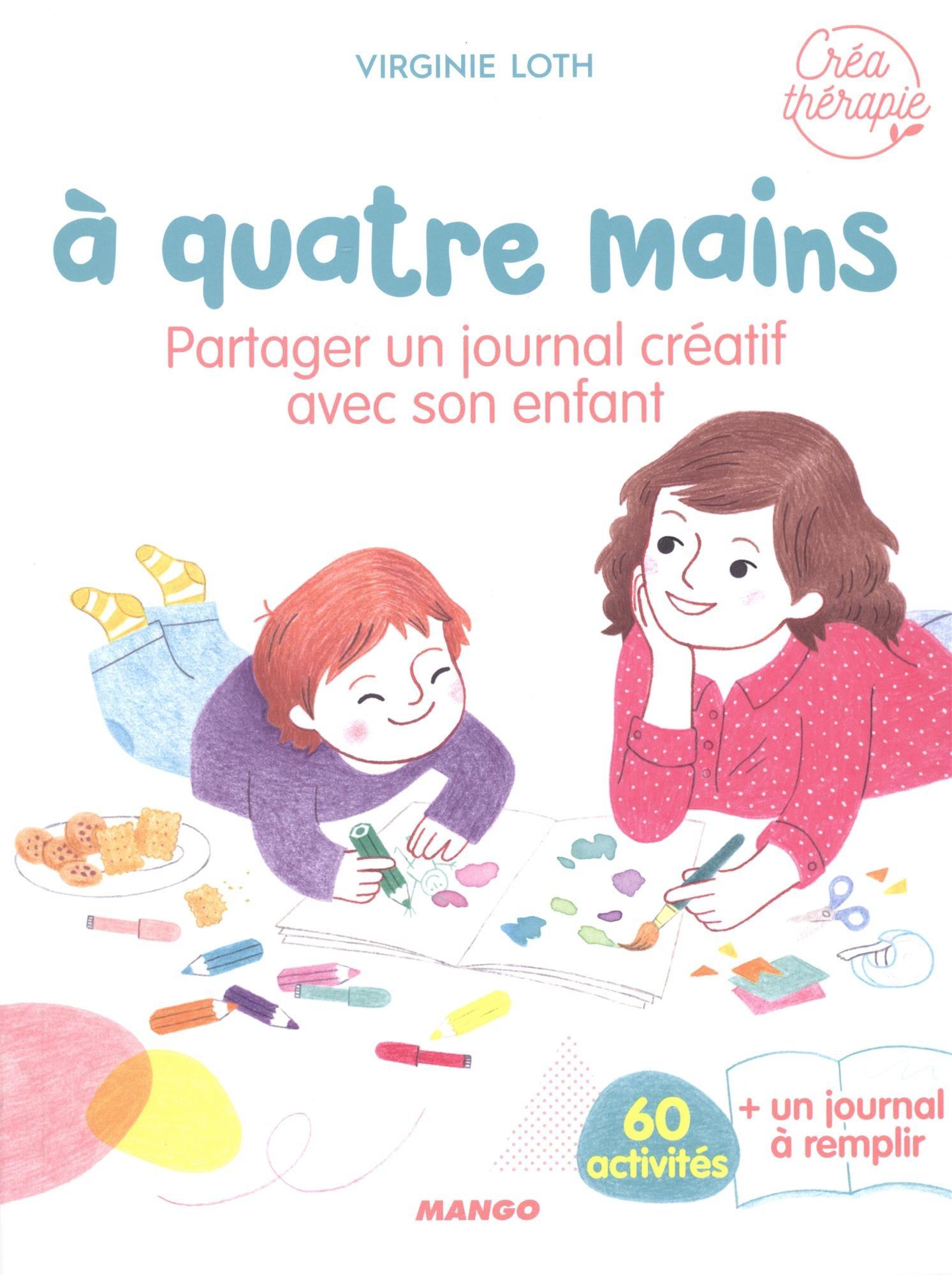 partager journal créatif avec enfants
