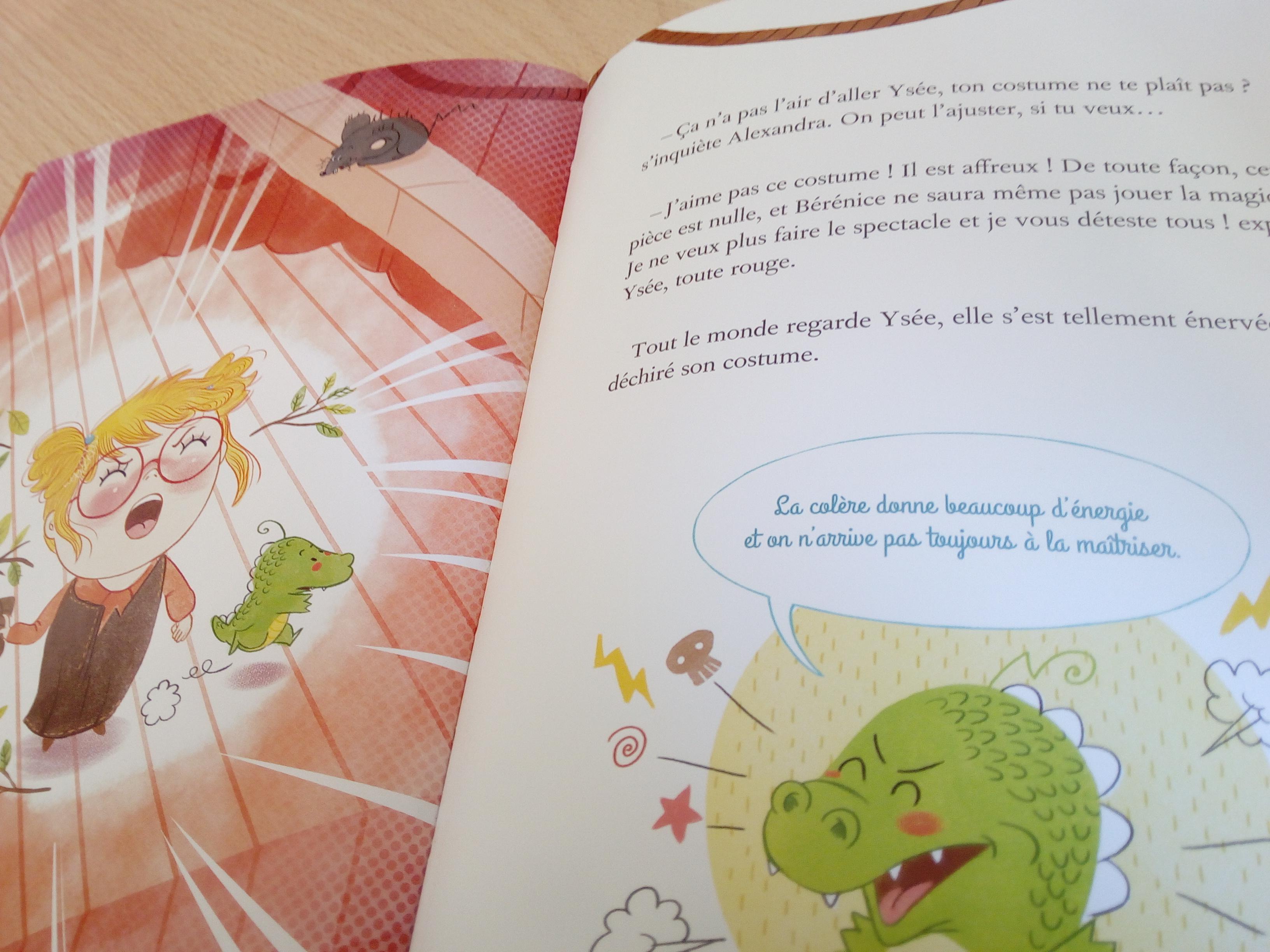 livre enfant gérer colère