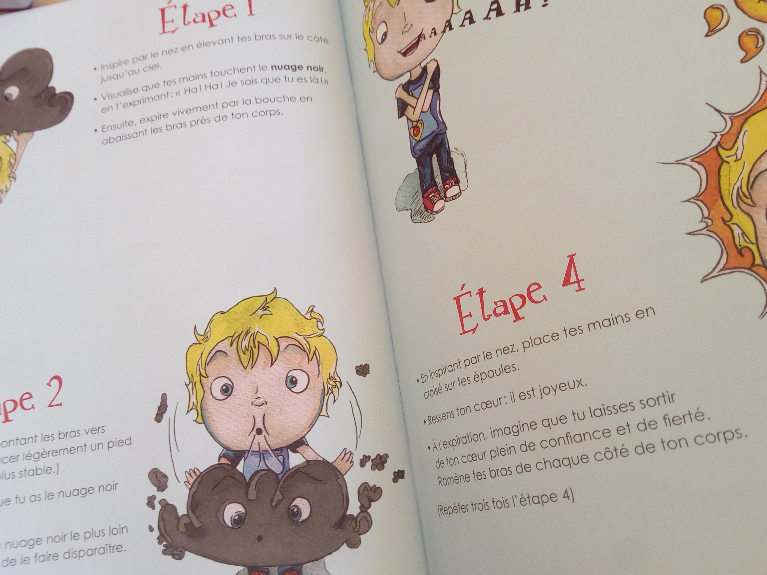 livre enfants canaliser la colère