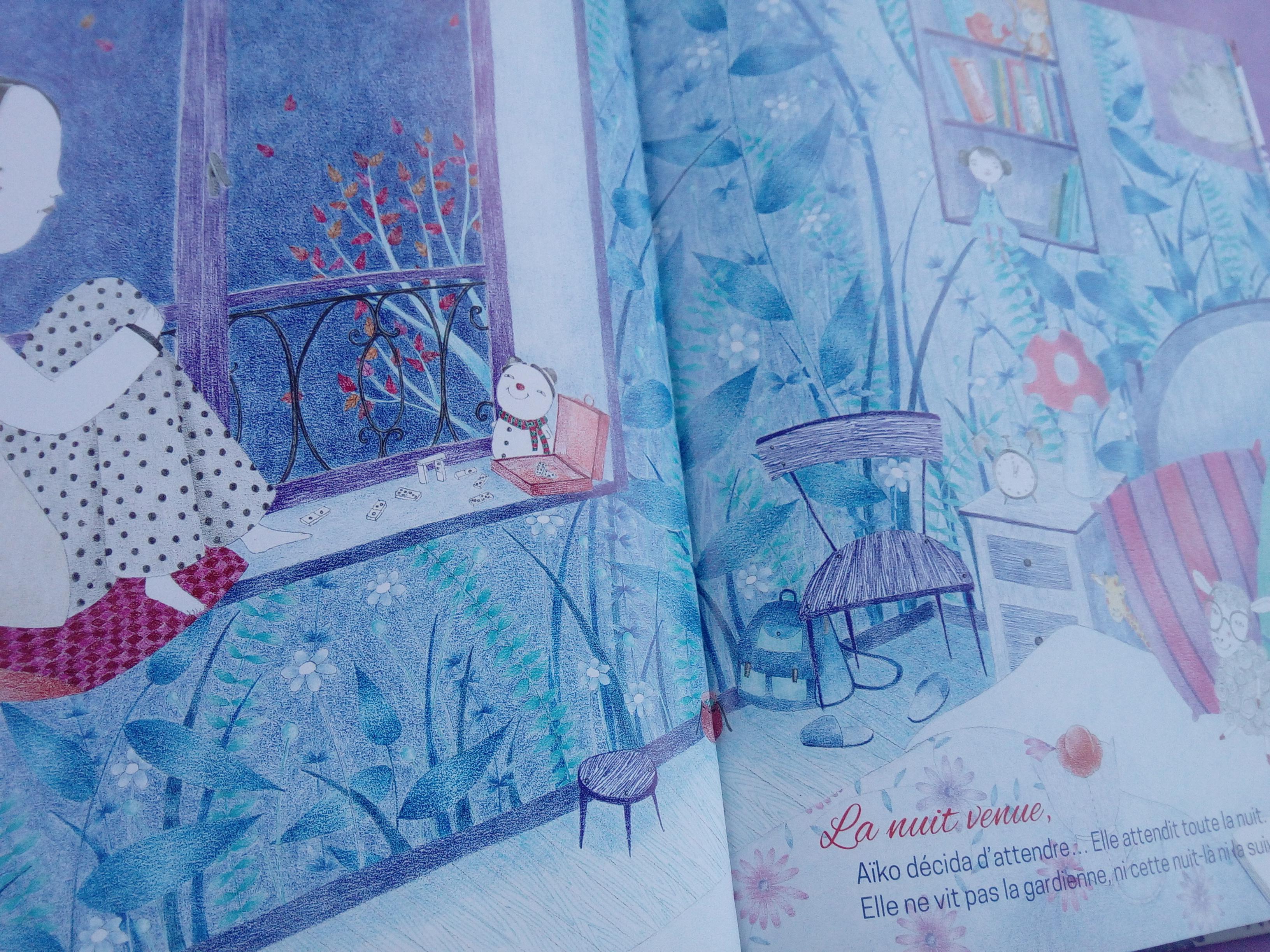 livre enfants gardienne rêves