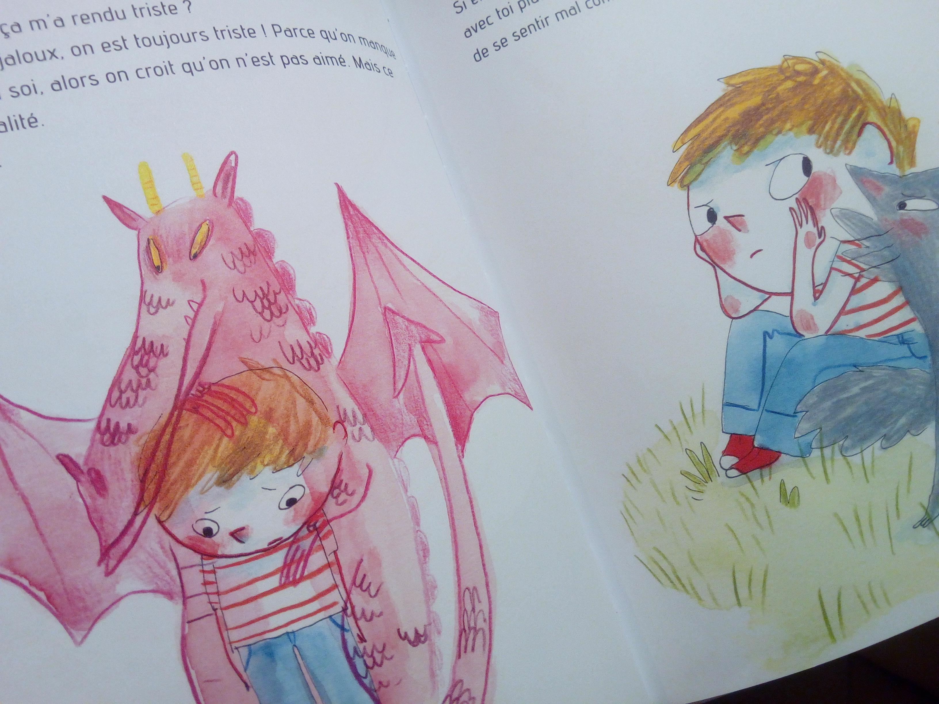 livre sur la jalousie pour les enfants