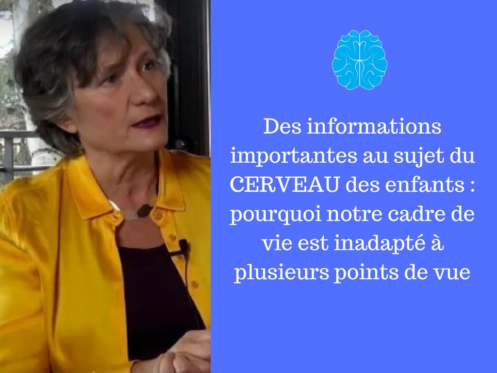 informations importantes au sujet du cerveau des enfants