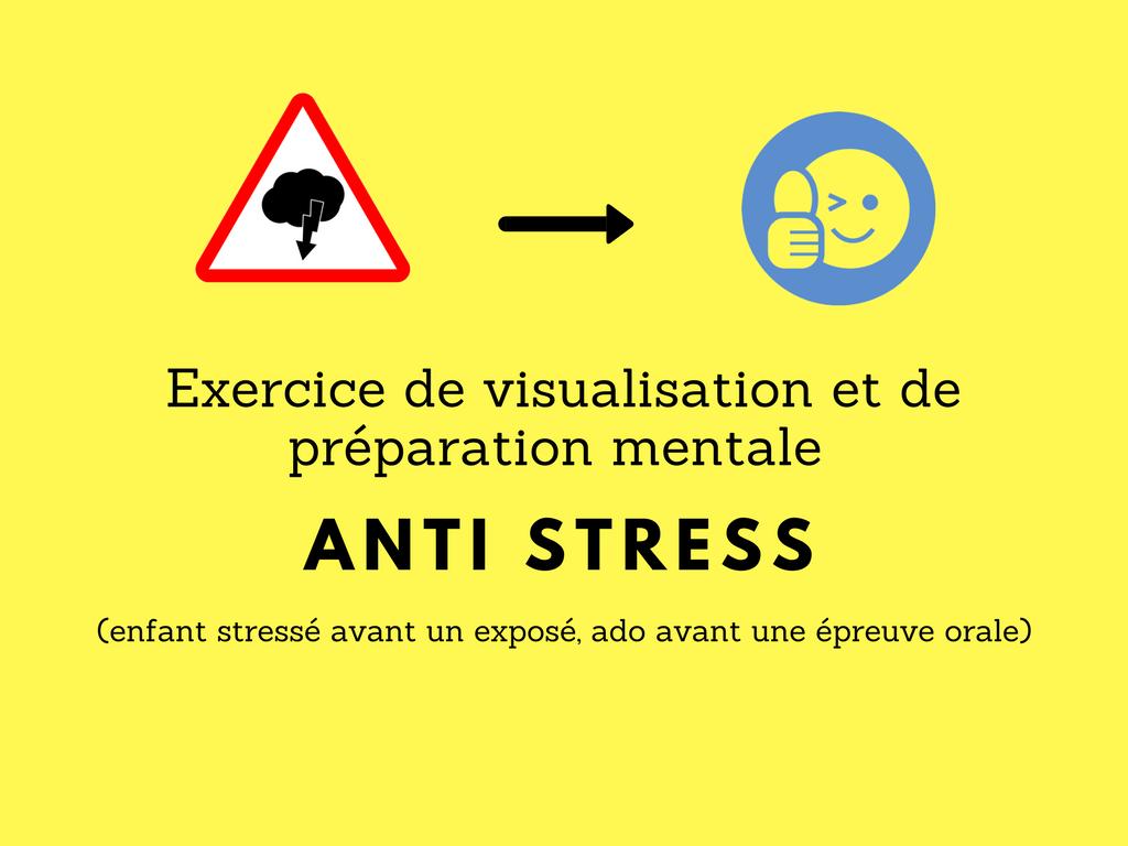 exercice visualisation anti stress enfant
