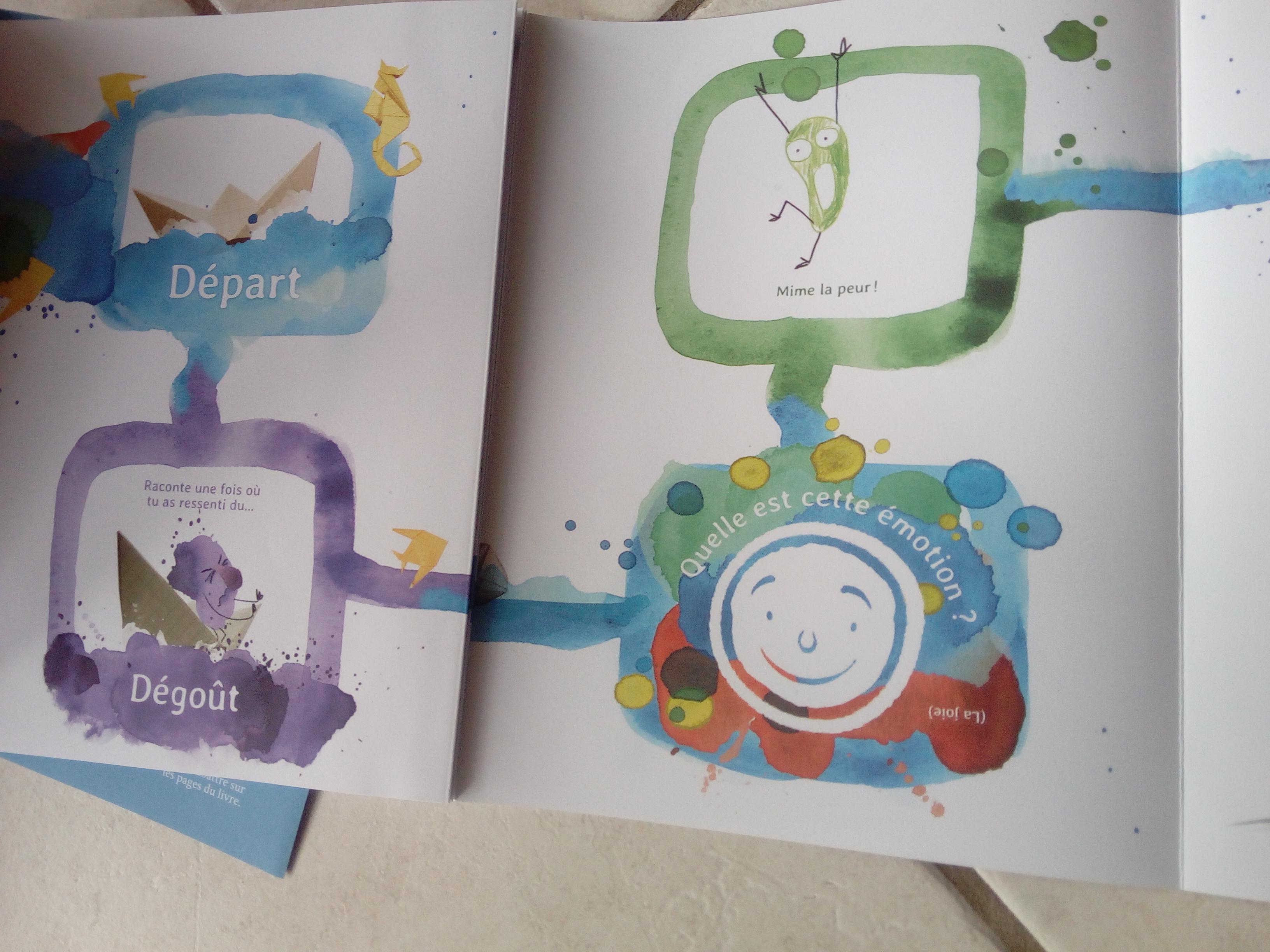 livre émotions jeunes enfants