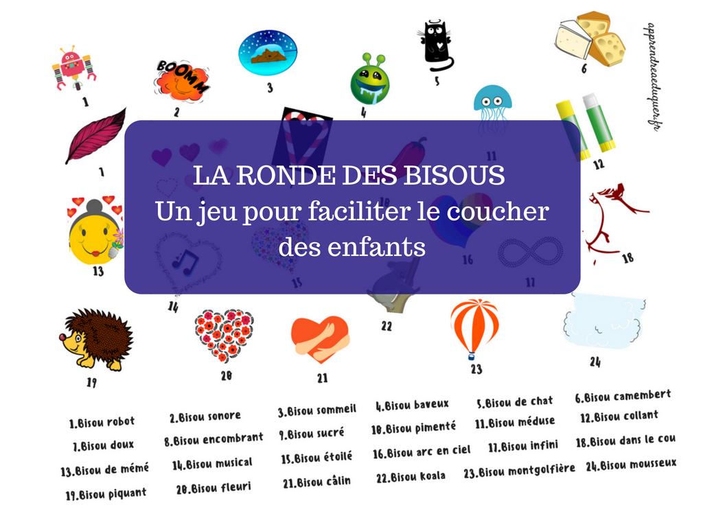 La ronde des bisous _ un jeu pour faciliter le coucher des enfants