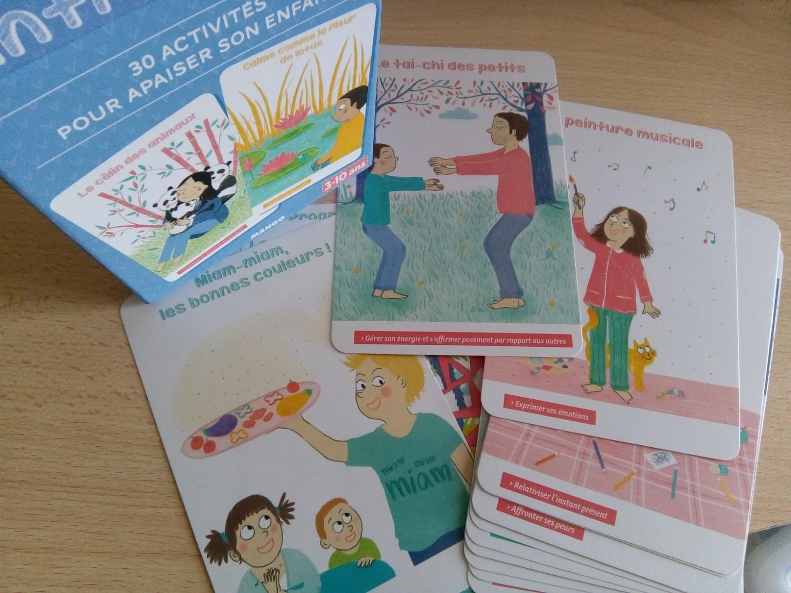 activités anti stress enfants