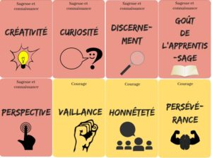 cartes forces psychologie positive