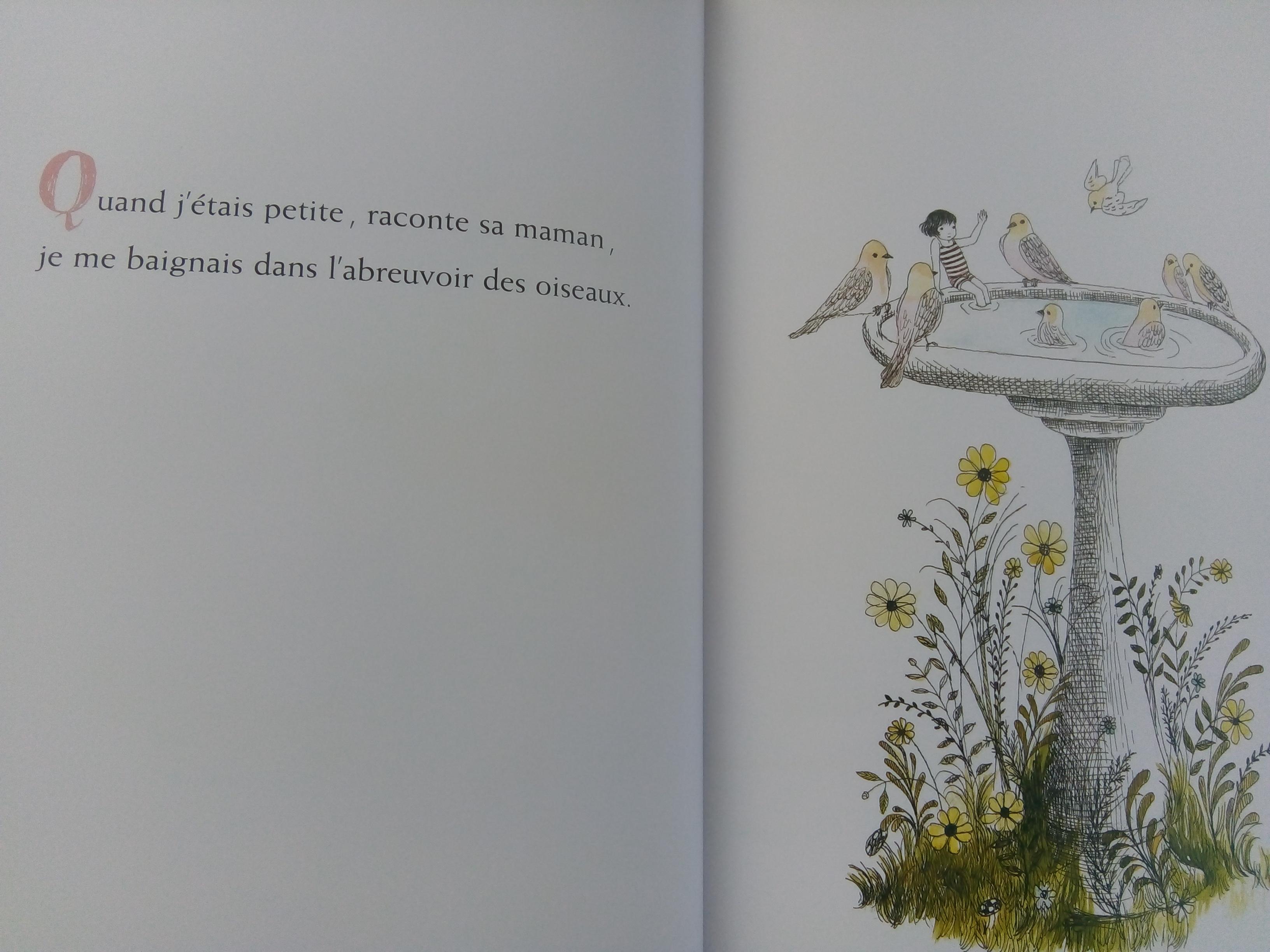 livre quand j etais petite