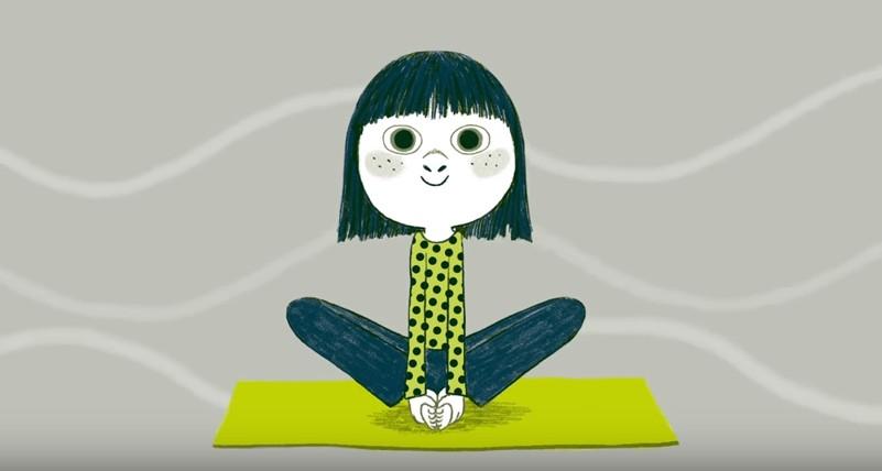 yoga enfants corps concentrer