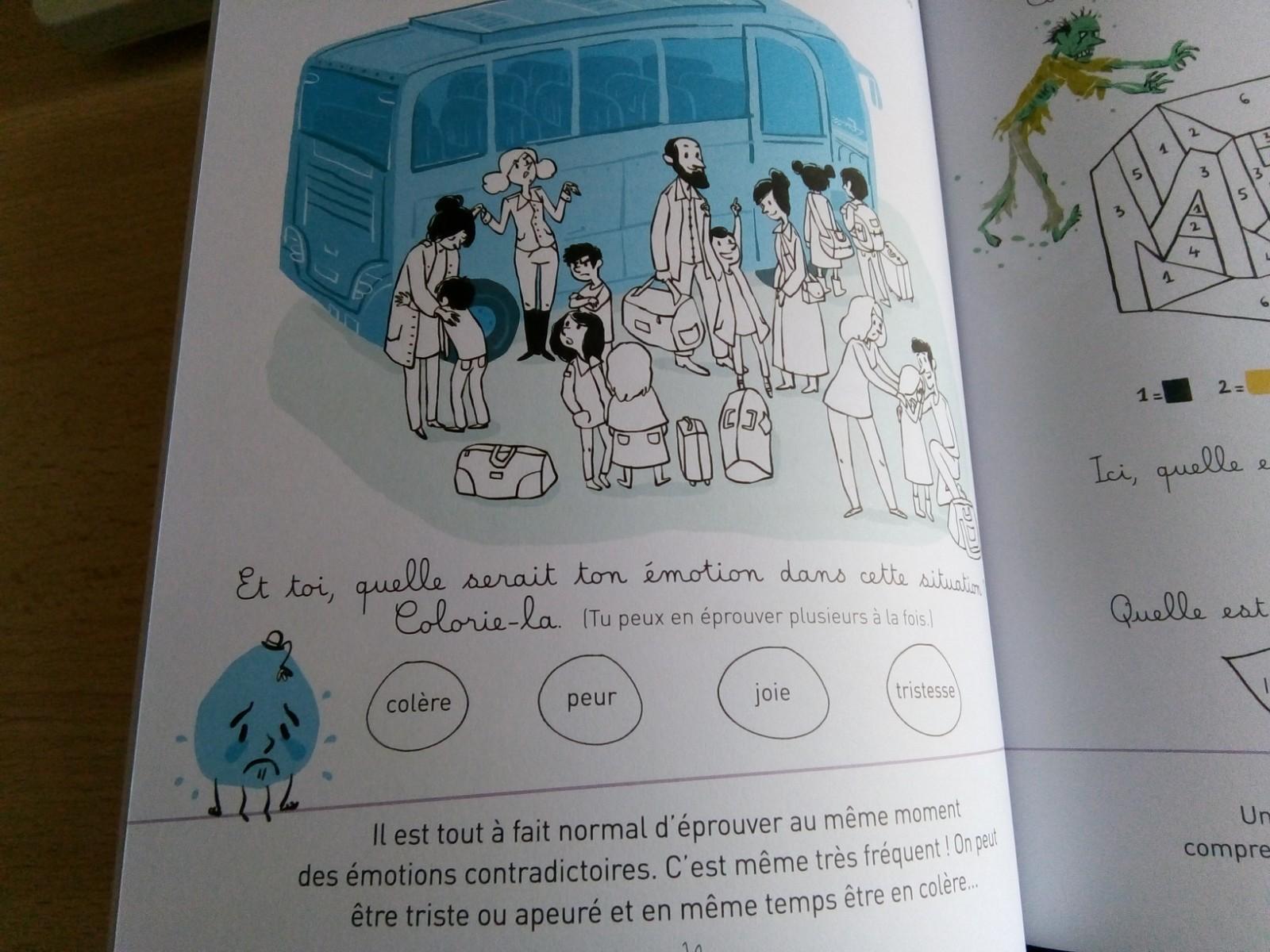 cahier émotion enfants