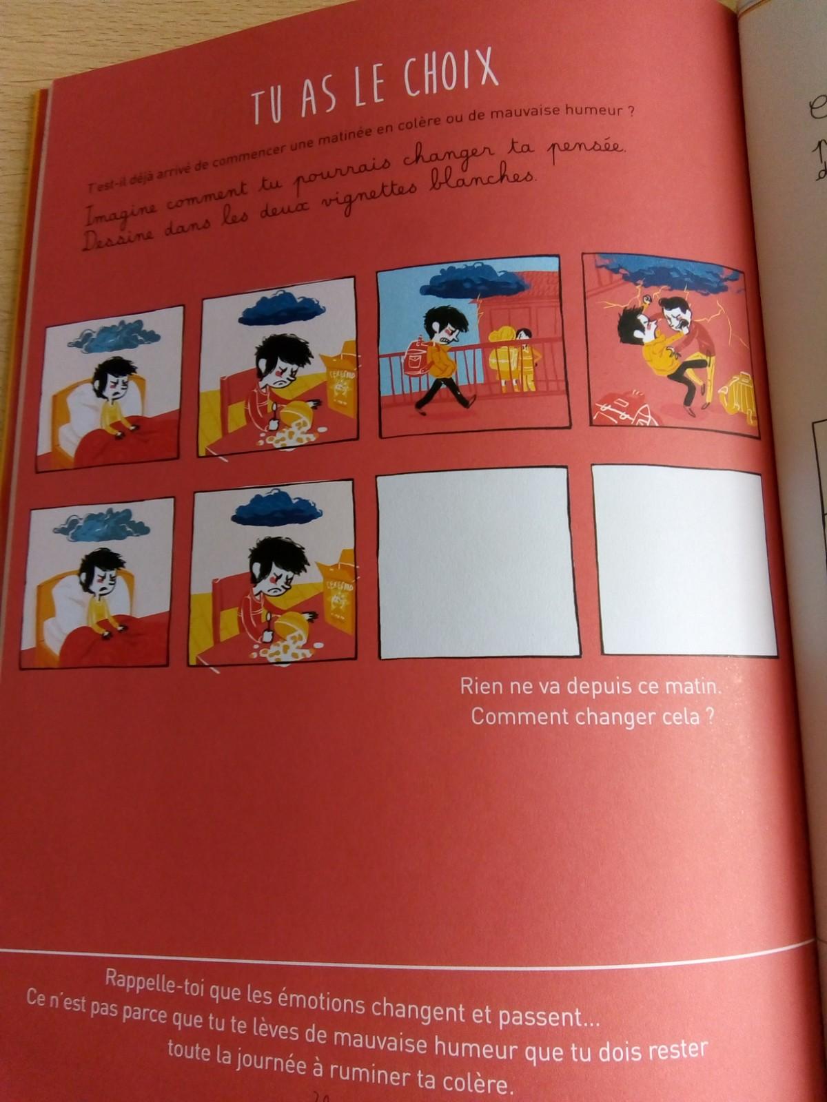 cahier émotions enfant