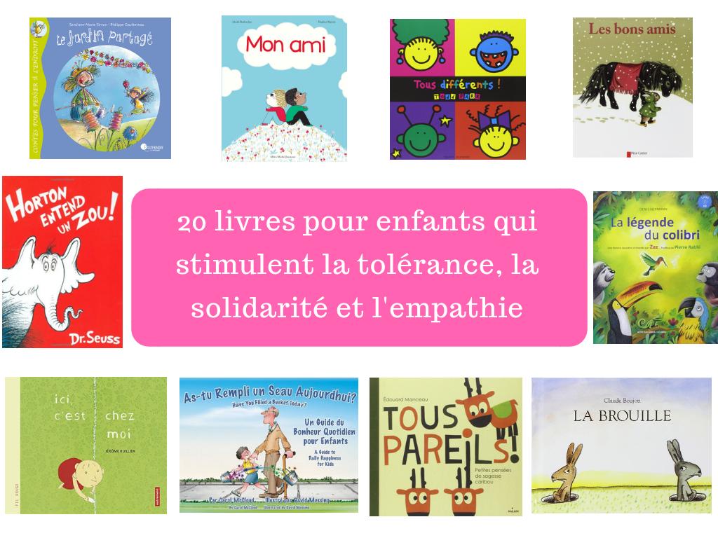 livre enfants tolérance solidarité empathie