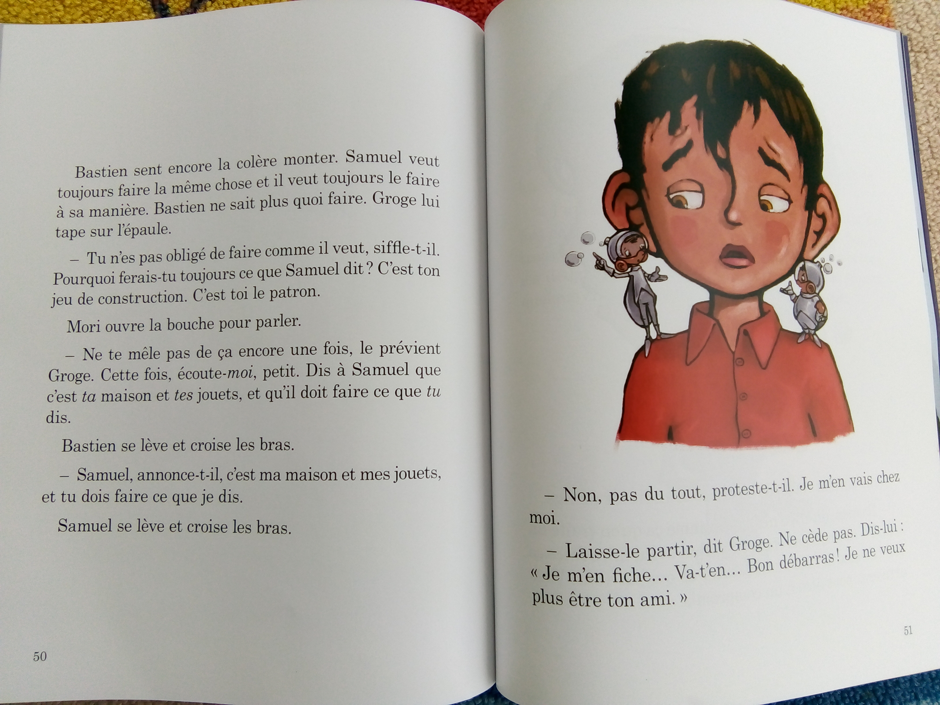 livre bastien blipoux communication bienveillante enfants