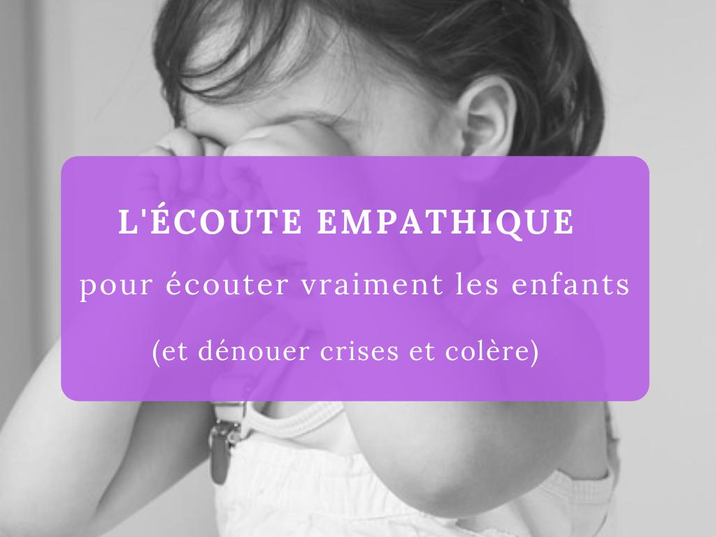 écoute empathique enfants