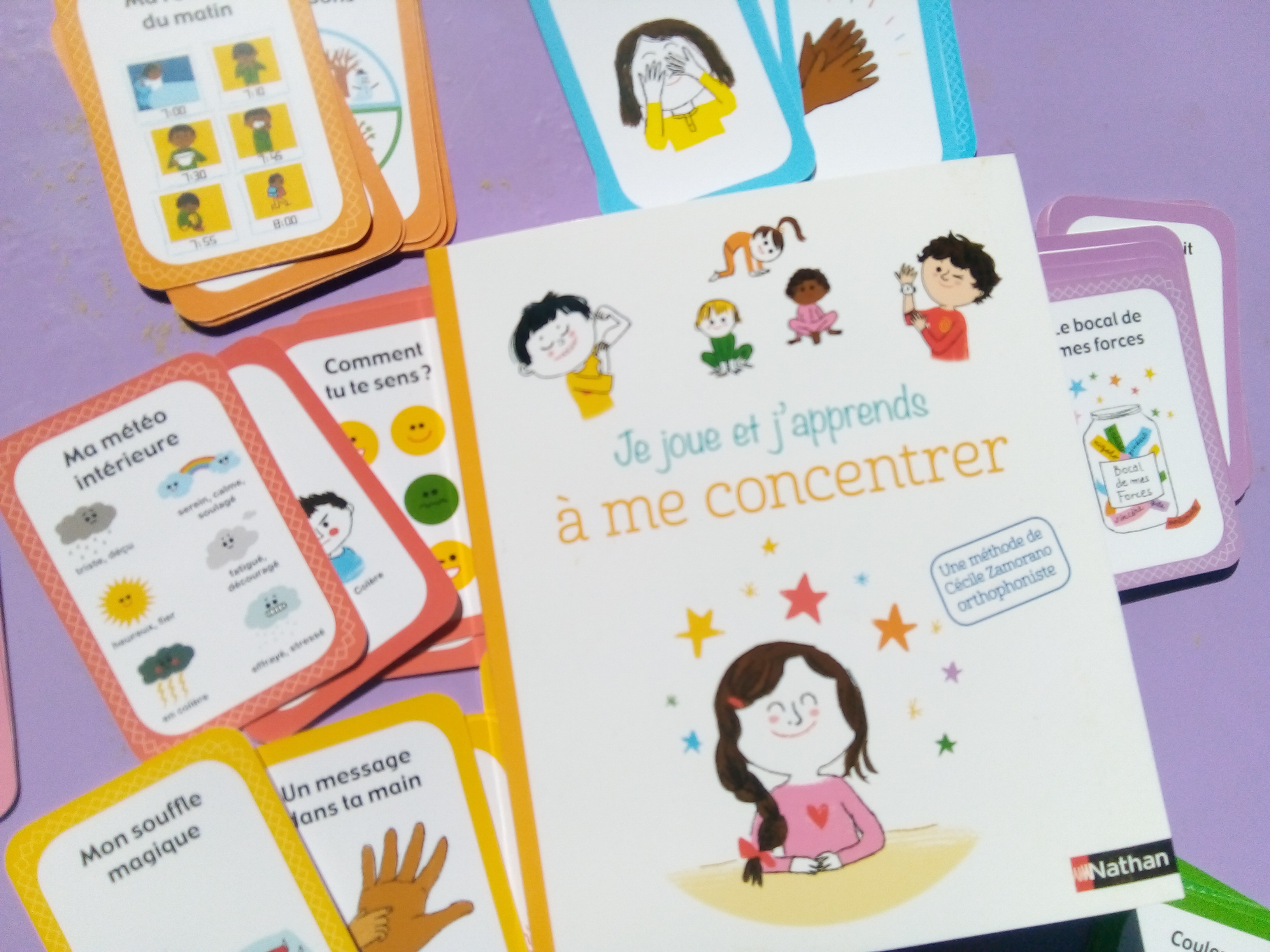 coffret se concentrer