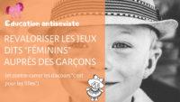 Education antisexiste _ (et contre-carrer les discours _c'est pour les filles_)