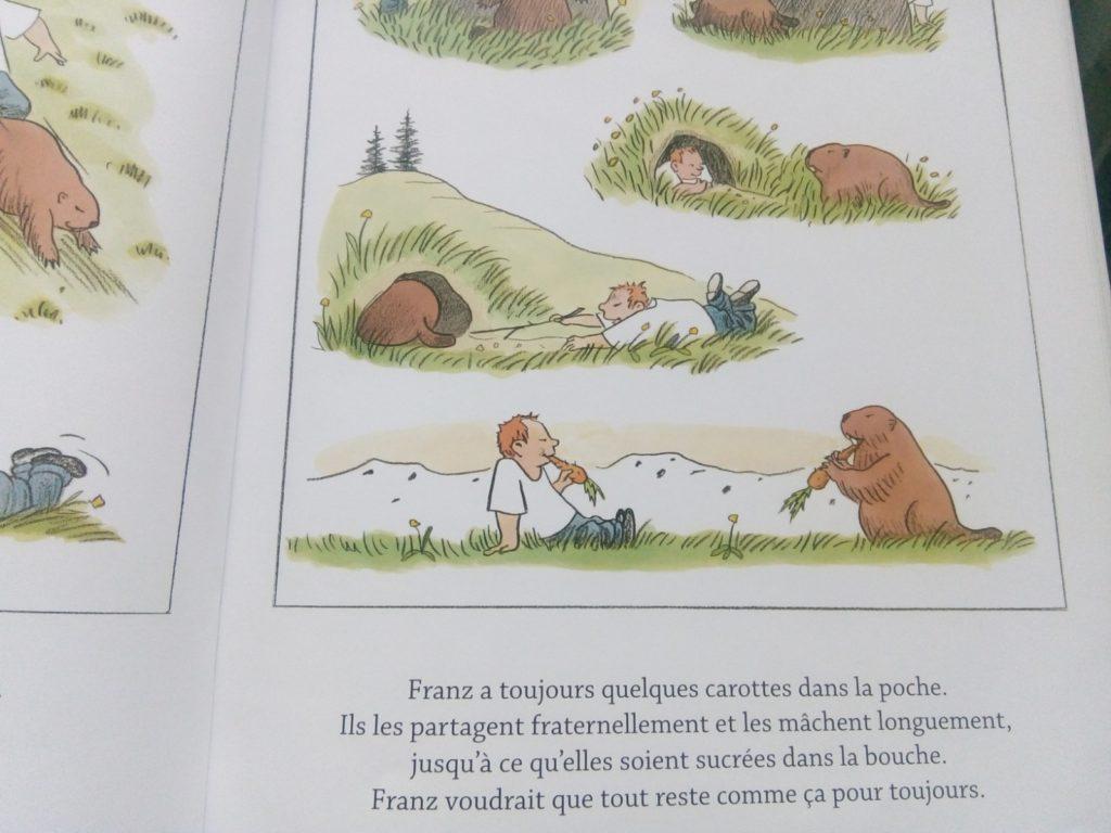 album jeunesse nature relation enfant et animal