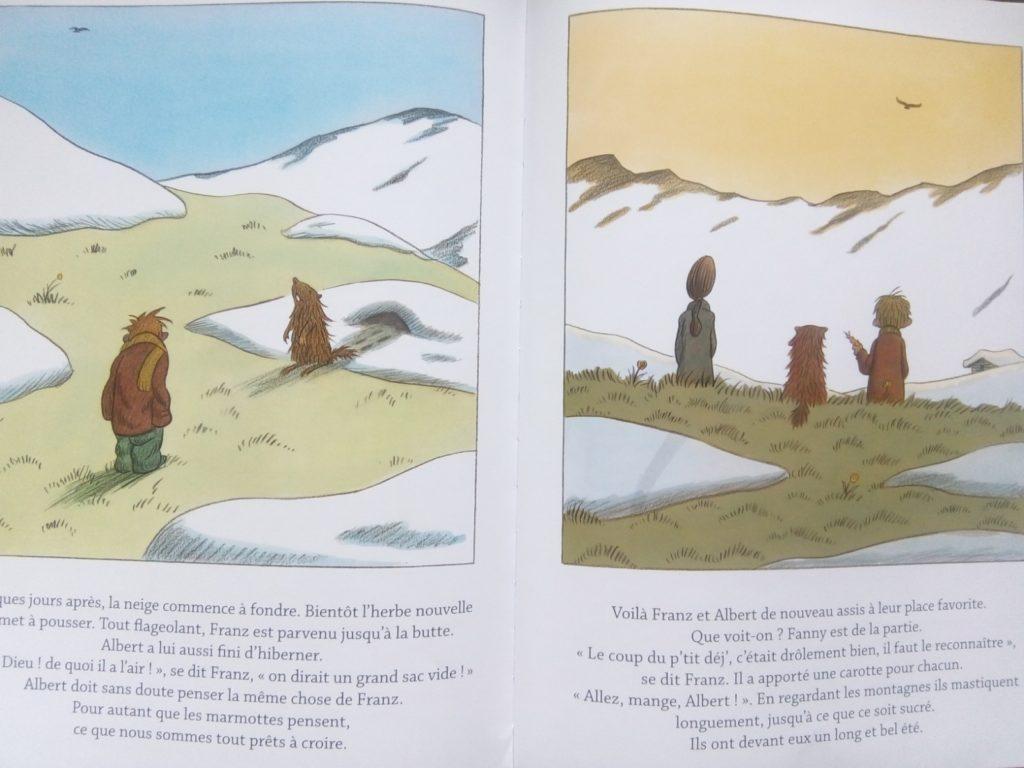 album jeunesse sur la nature et la relation enfant animal