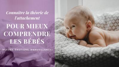théorie de l'attachement bébé