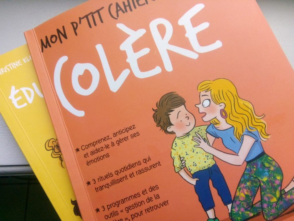 cahier colère famille