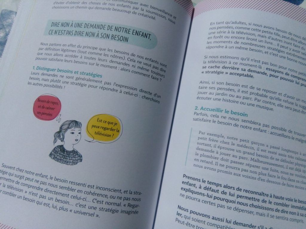livre communication bienveillante en famille