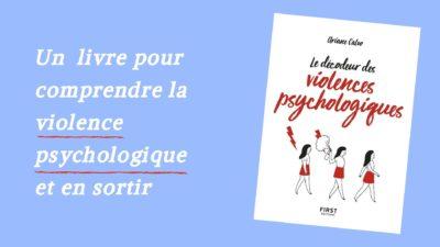 livre sortir violence psychologique