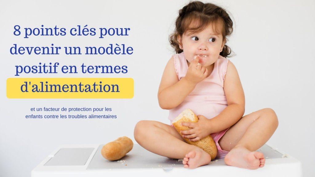 modèle positif alimentation enfants