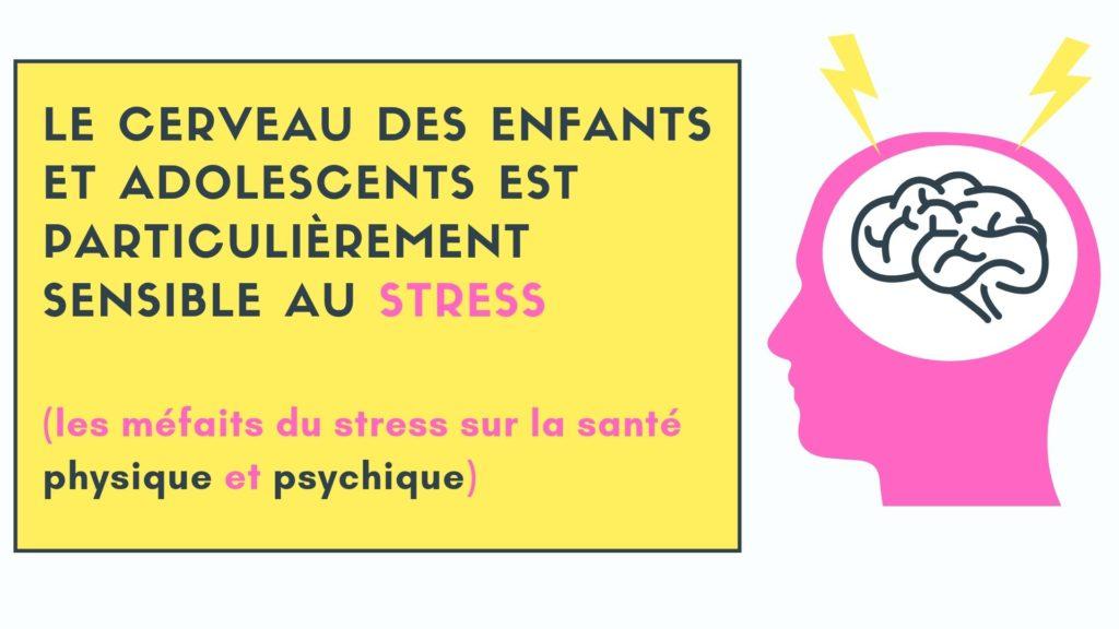 stress enfants