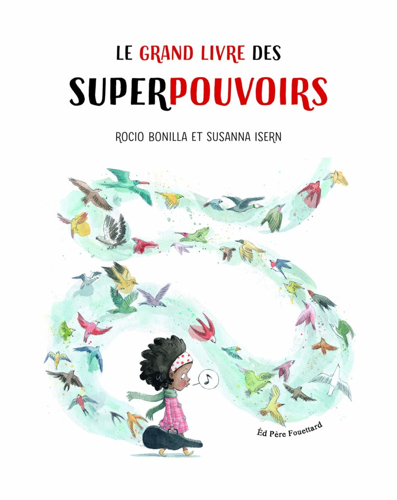 livre enfants des super pouvoirs