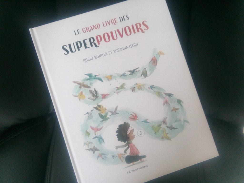 livre super pouvoirs pour enfants