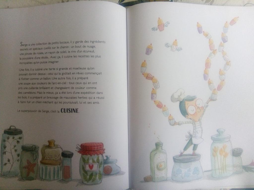 livre superpouvoirs enfant