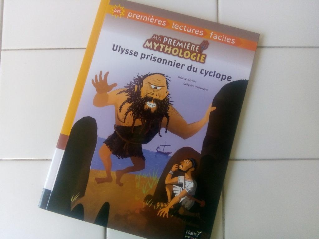 livre sur la mythologie enfants dys premières lectures