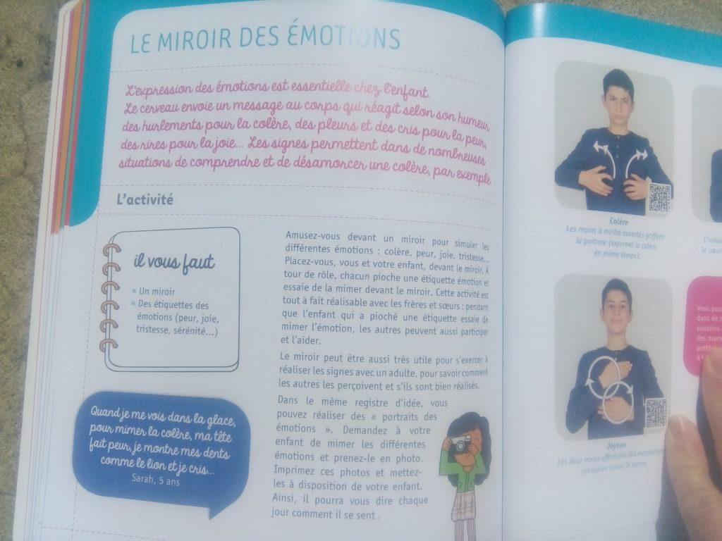 livre communiquer signes avec bébé