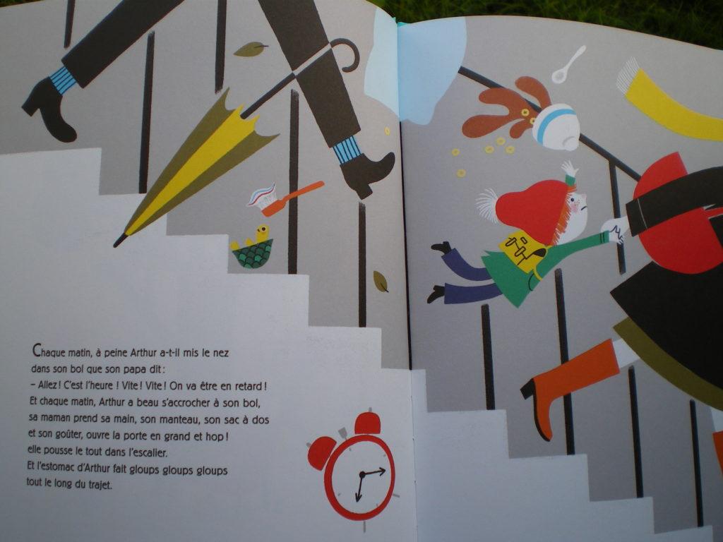 livre enfant rapport au temps