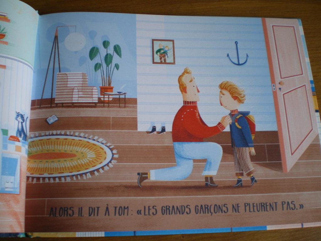 livre enfants droit pleurer