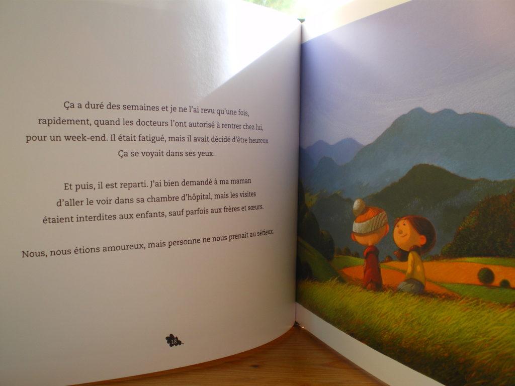livre pour enfants sur la mort et la maladie