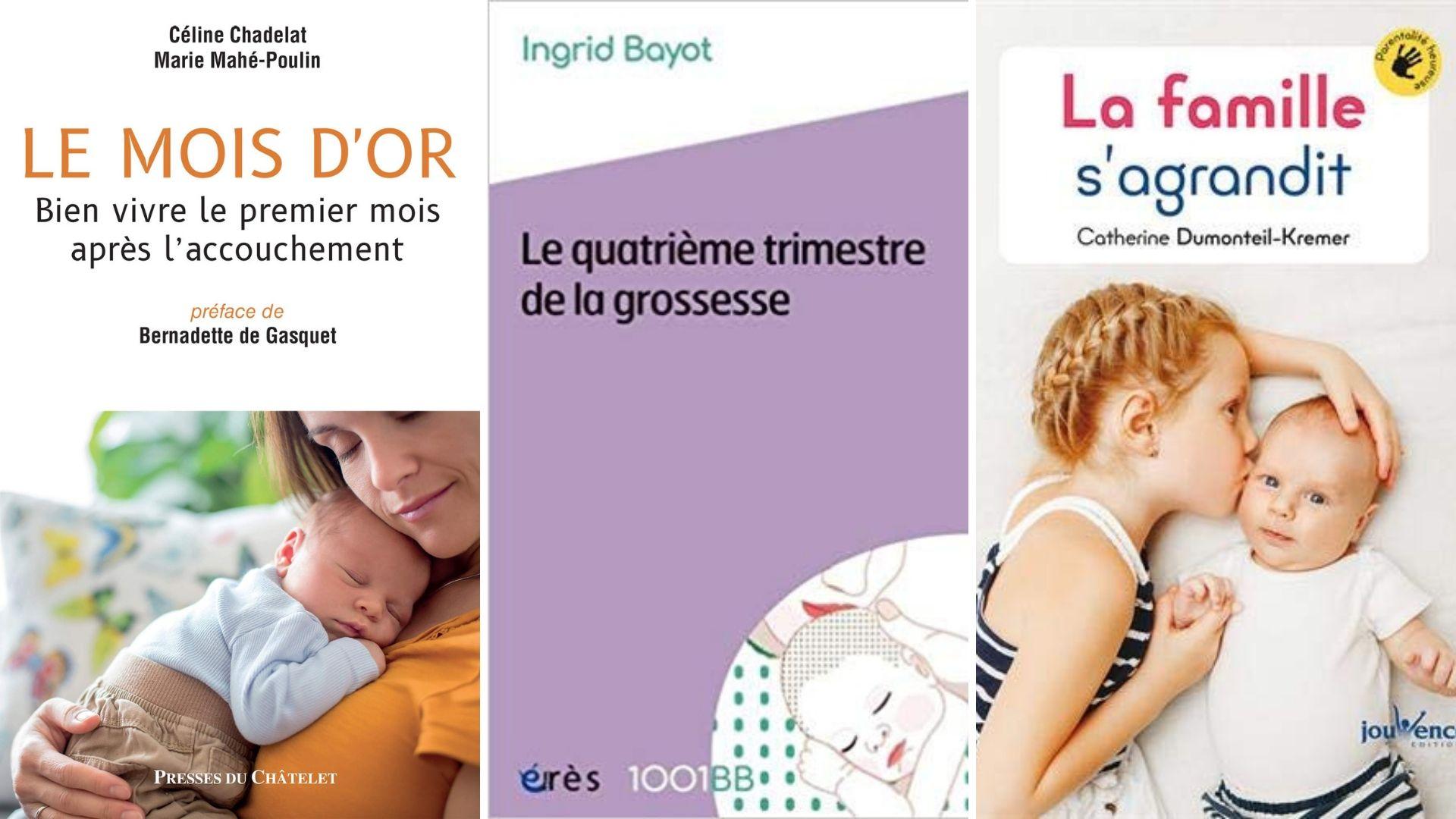 3 Livres Bienveillants Pour Se Preparer A L Arrivee De Bebe Et Aux Premiers Mois De La Maternite Apprendre A Eduquer