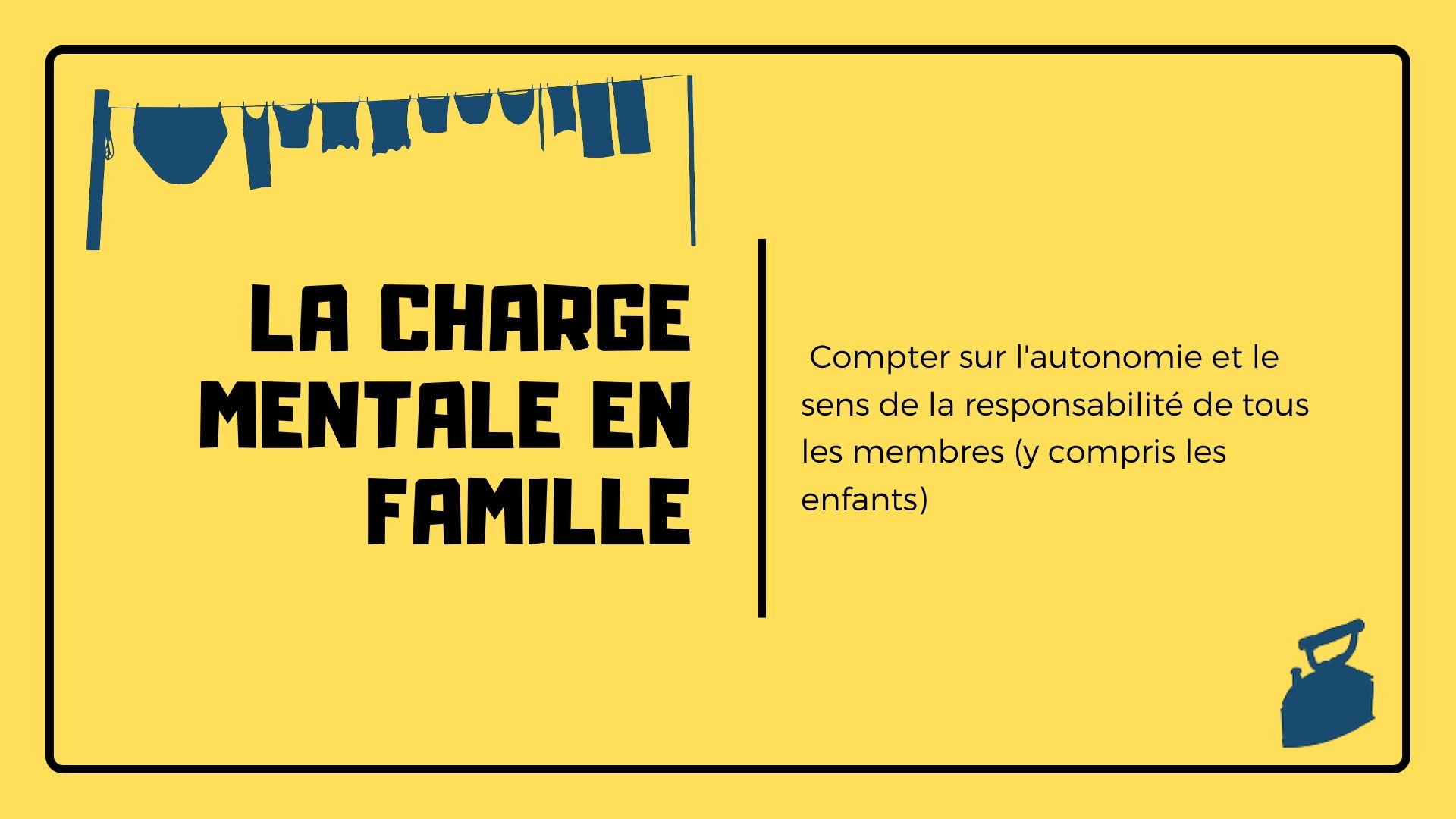 charge mentale famille