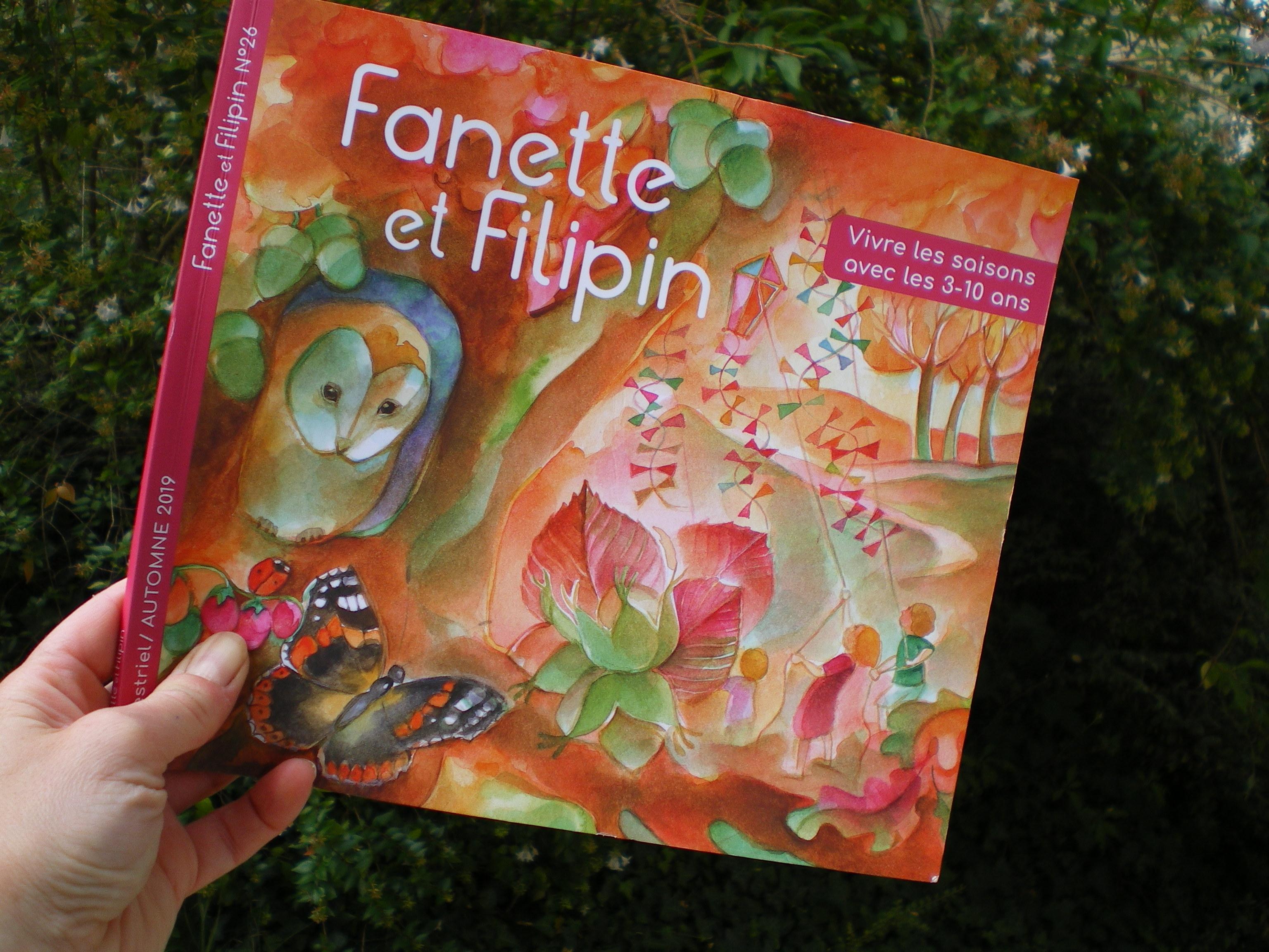 fanette et filipin magazine d'automne
