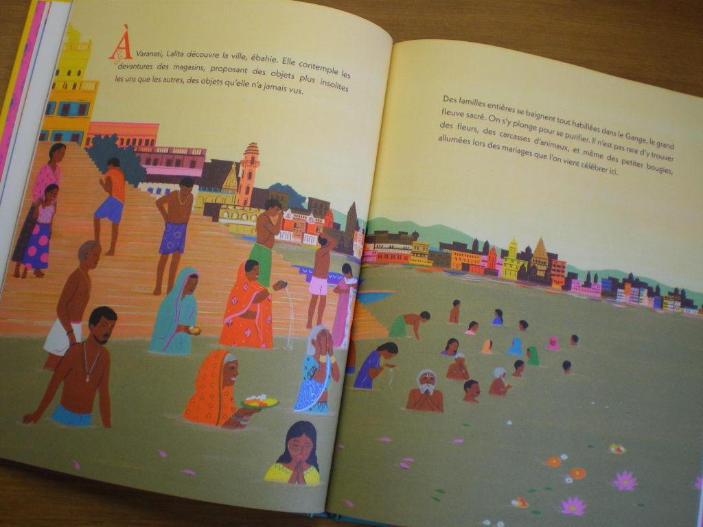 la tresse livre illustré pour enfants