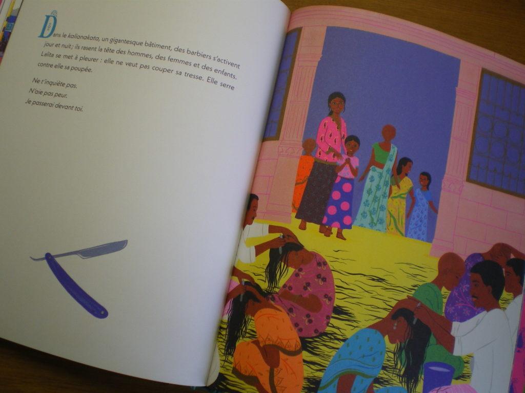 la tresse livre illustré pour les enfants