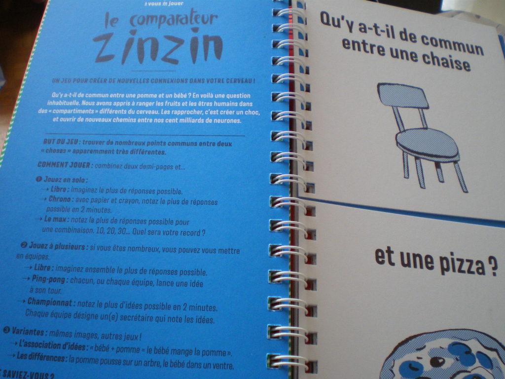 livre créativité fabrique à idées