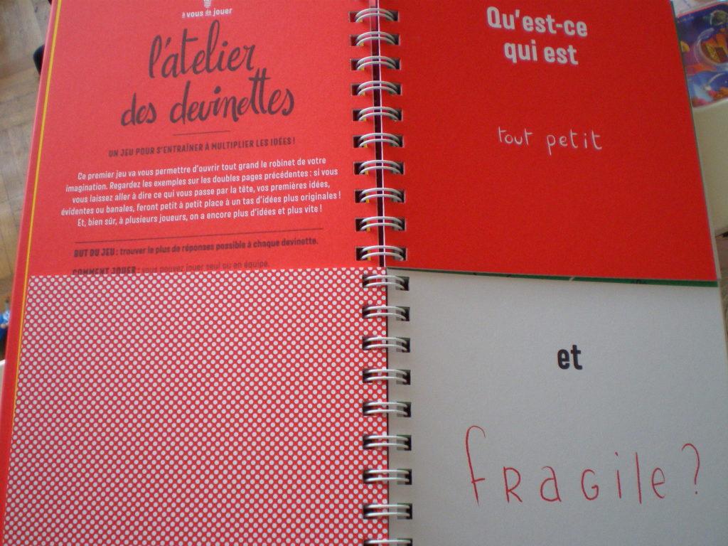 livre créativité jouer avec les mots