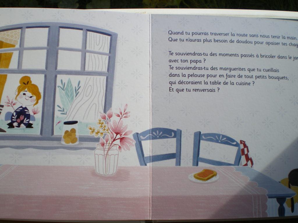 livre sur les souvenirs parents enfants