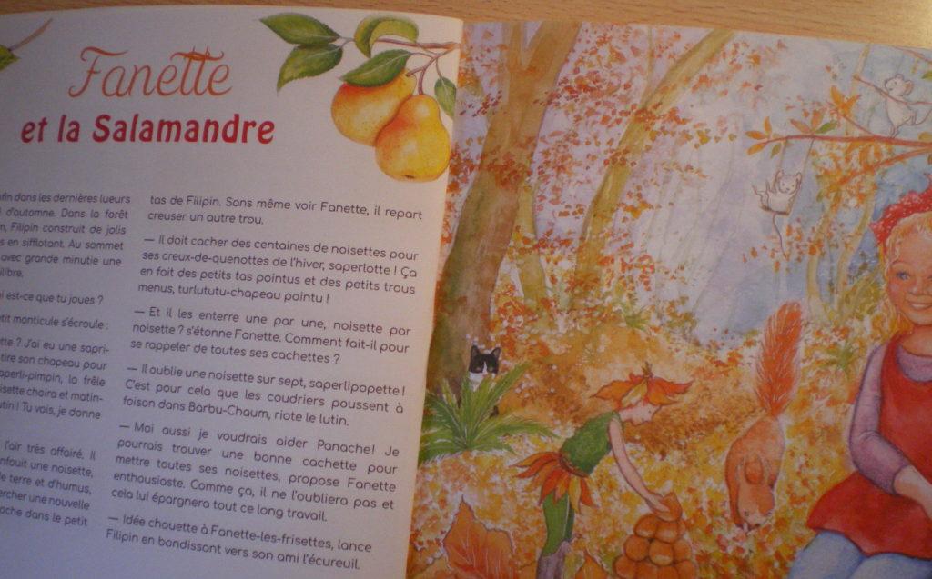 magazine fanette filipin d'automne