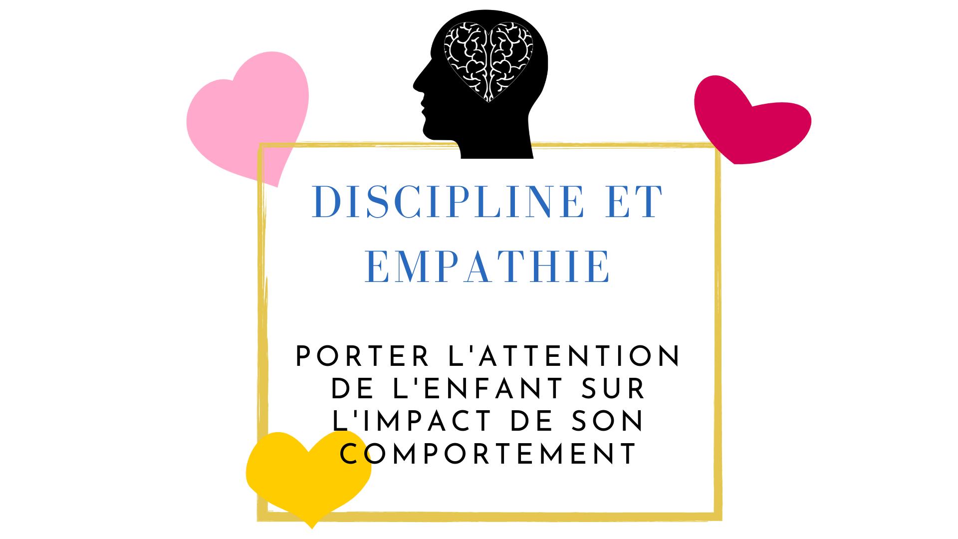 empathie discipline enfants