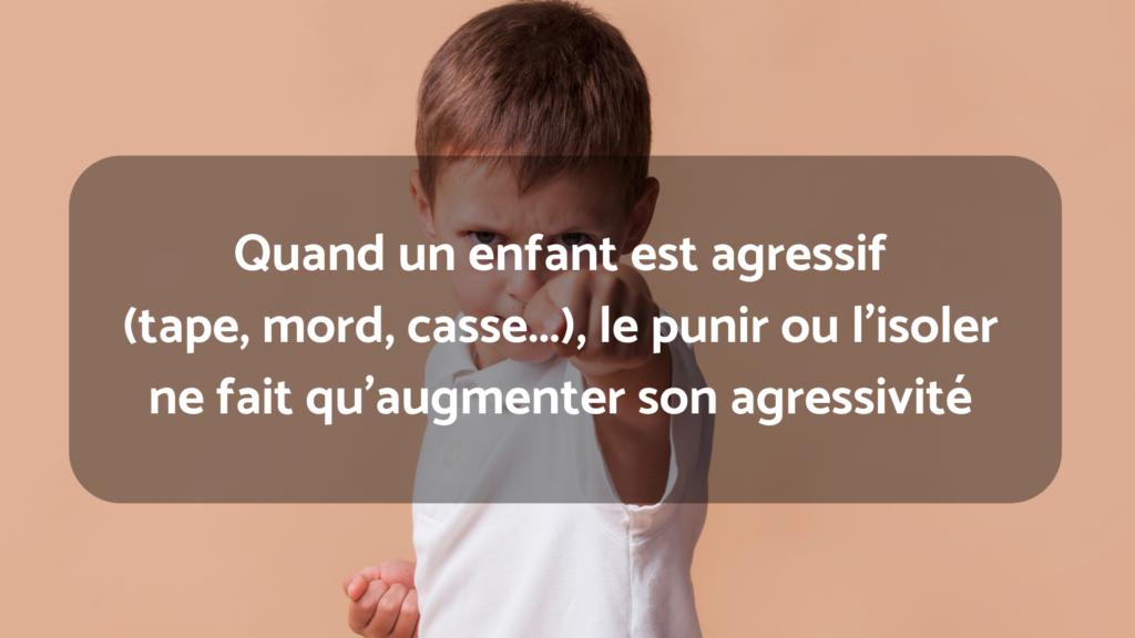 enfant agressif